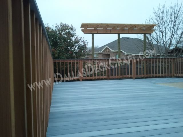 Deck Patio Trex Capped