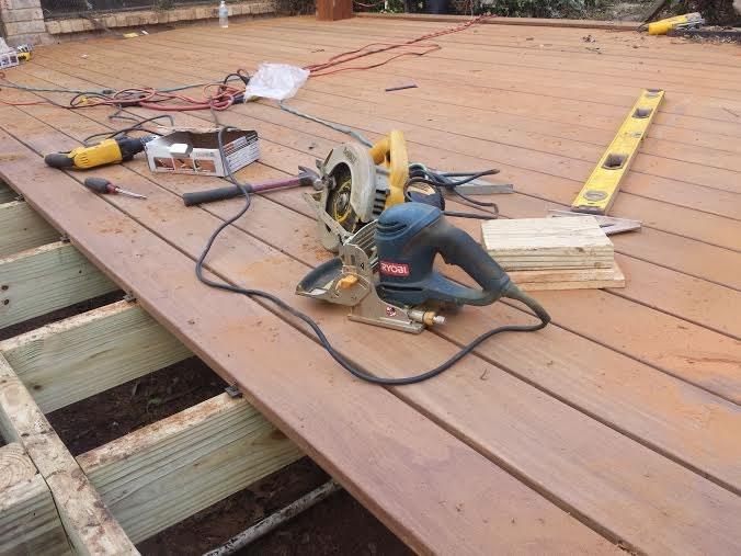Deck Install Ipe