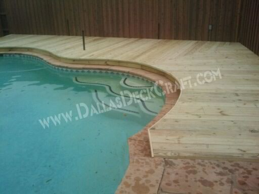 Deck Pool Pressure-Treated Pine