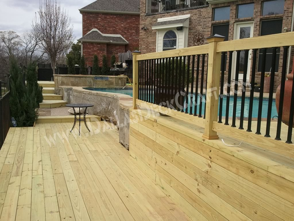 Is Pressure Treated Wood The Right Choice For My Outdoor Deck Dallas Deck Craft