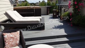 Composite Decking for Roof Deck