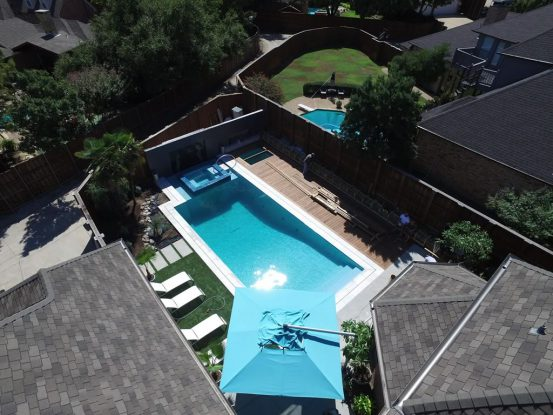Feature Deck: Plano Poolside