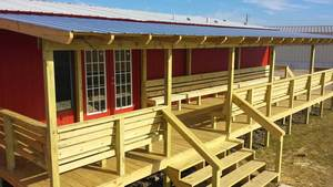 Pressure-Treated Pine, Mobile Home Deck