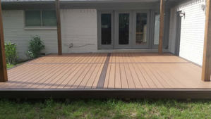 Trex Patio Deck